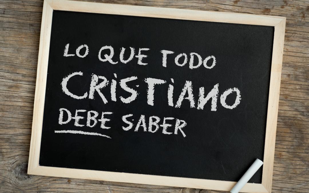 5 Prácticas básicas para la vida cristiana