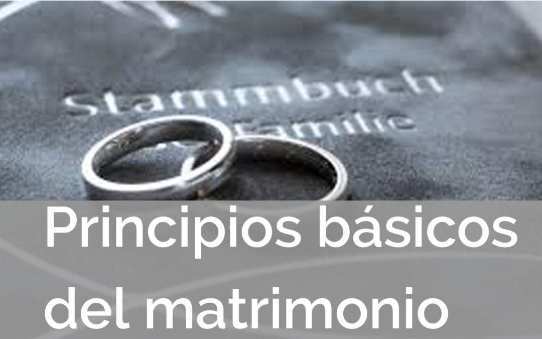 Principio matrimonial #2: La confianza se gana no se da gratuitamente